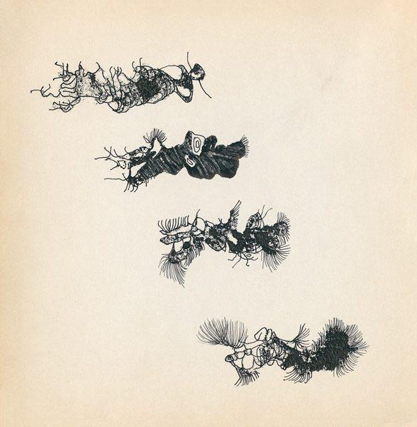 "LEBADANG, ""Genesis_15"", circa 1960, encre de Chine sur papier, 16.8 x 16.3 cm. © Myshu Lebadang, Paris, France."