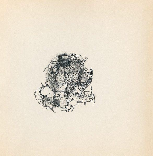 "LEBADANG, ""Genesis_44"", circa 1960, encre de Chine sur papier, 16.8 x 16.3 cm. © Myshu Lebadang, Paris, France."