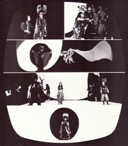 """LEBADANG, Opera """"Mỵ Châu - Trọng Thủy"""", 1978. Myshu Lebadang, Paris, France. © D. Cande."""