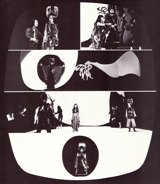 """LEBADANG, Opéra """"Mỵ Châu – Trọng Thủy"""", 1978. Myshu Lebadang, Paris, France. © D. Cande"""