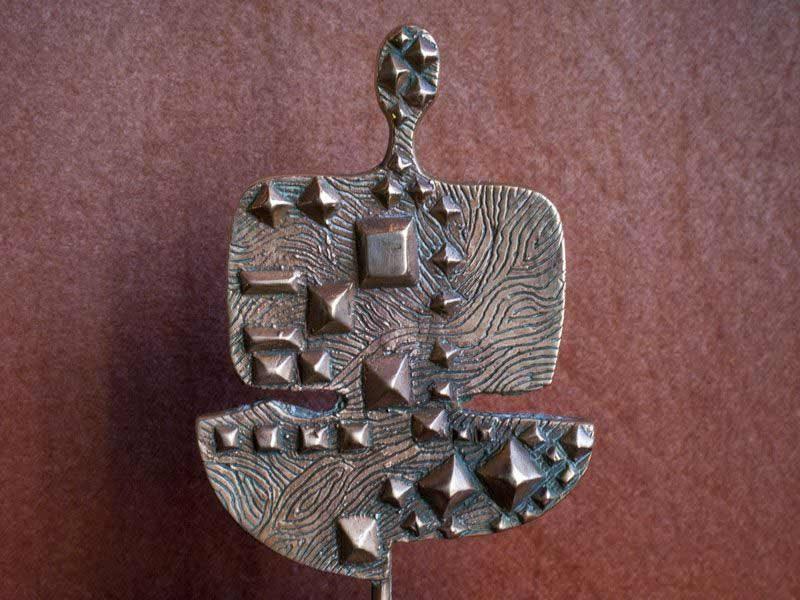 "LEBADANG, ""Personnage et famille"", 1982, bronze. Myshu Lebadang, Paris, France. © Luc HO."