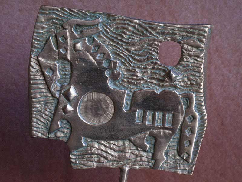 "LEBADANG, ""Cheval"", 1982, bronze. Myshu Lebadang, Paris, France. © Luc HO."