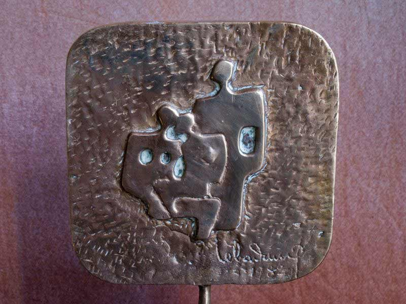 """LEBADANG, """"Famille"""", 1982, bronze. Myshu Lebadang, Paris, France. © Luc HO."""