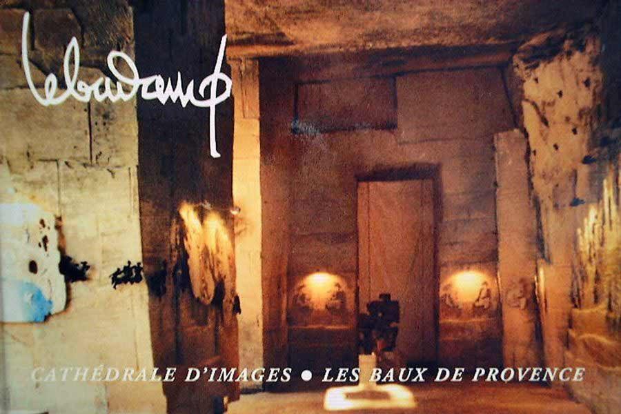 """LEBADANG, """"Cathédrale d'Images - Baux-de-Provence"""", 1997. Droits réservés."""