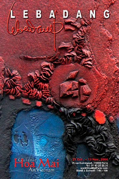 "LEBADANG, ""Galerie Hoa Mai"", 2004. Droits réservés."