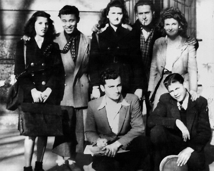 """LEBADANG, """"Ecole des beaux-arts de Toulouse"""", 1942-48. Myshu Lebadang, Paris, France. Droits réservés."""