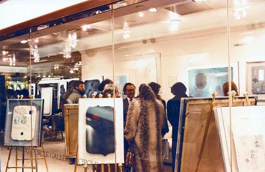 "LEBADANG, ""Exposition Circle Gallery, New-York"". Myshu Lebadang, Paris, France. Droits réservés"