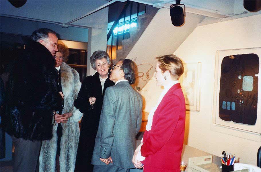 "LEBADANG, ""Exposition Circle Gallery, Denver"". Myshu Lebadang, Paris, France. Droits réservés."